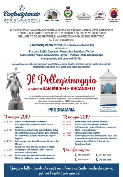 Pellegrinaggio in onore di  San Michele Arcangelo