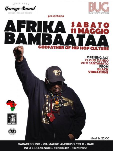 Afrika Bambaataa • Garage Sound & BUG