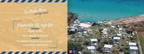 25/04 La Perla Nera Open Air- Free Entry