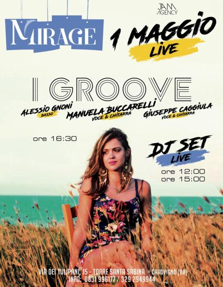 Primo Maggio LIVE at Mirage (Torre Santa Sabina)
