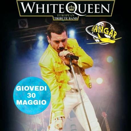 White QUEEN live concert Hangar Casamassima