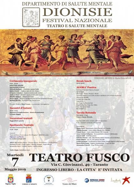 Dionisie Festival- Tra scienza e teatro