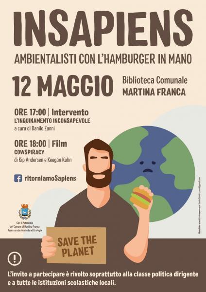 INSAPIENS - Ambientalisti con l'hamburger in mano