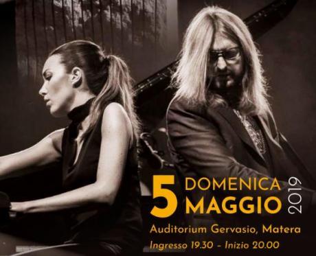 """Gloria Campaner e Leszek Możdżer all'Auditorium """"Gervasio"""""""
