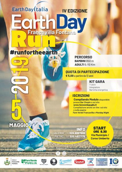 Earth Day Run 2019