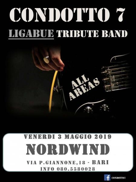 CONDOTTO7 - Ligabue tribute Band live al Nordwind