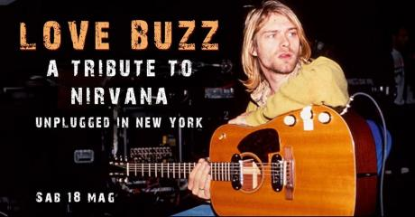 Love Buzz - A tribute to Nirvana plays Unplugged in New York