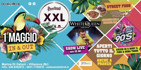 Primo Maggio 2019 at XXL Music Bistrot (Villanova) WHITE QUEEN
