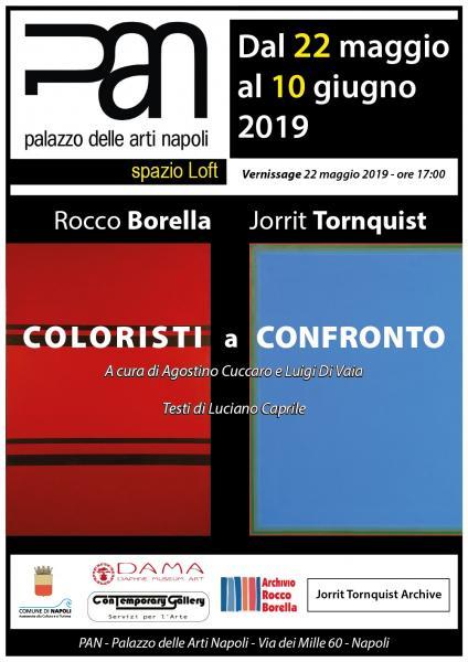 """""""Rocco Borella / Jorrit Tornquist - coloristi a confronto"""""""