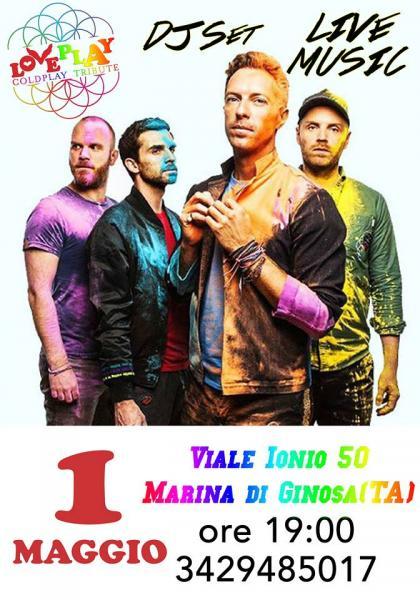 LoVePlaY - Coldplay Tribute - Marina di Ginosa