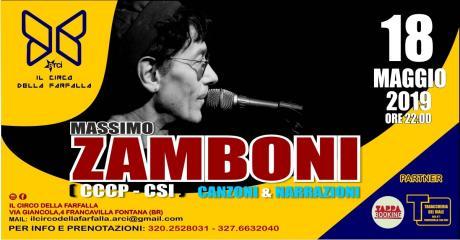 Massimo Zamboni (CCCP, CSI) - Canzoni e Narrazioni