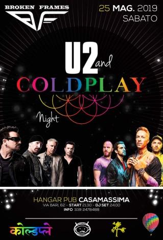 LIVE U2 & Coldplay after Dj Set Hangar