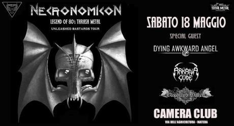 Necronomicon + Special Guest - Live at Camera Club - Matera