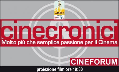 Rassegna Cinecronici Maggio 2019