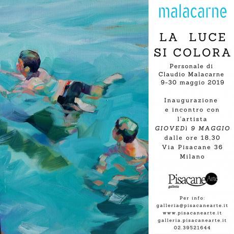 Claudio Malacarne, La luce si colora