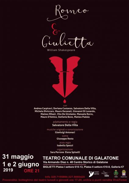 Romeo e Giulietta di William Shakespeare - debutto nazionale