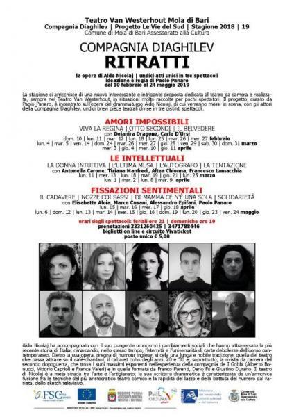 RITRATTI - FISSAZIONI SENTIMENTALI Le opere di Aldo Nicolaj