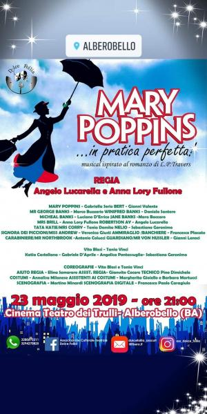 """MARY POPPINS...in pratica perfetta!"""
