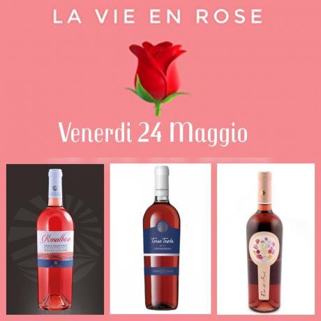 La vie En Rose - Degustazione di Vini Rosa