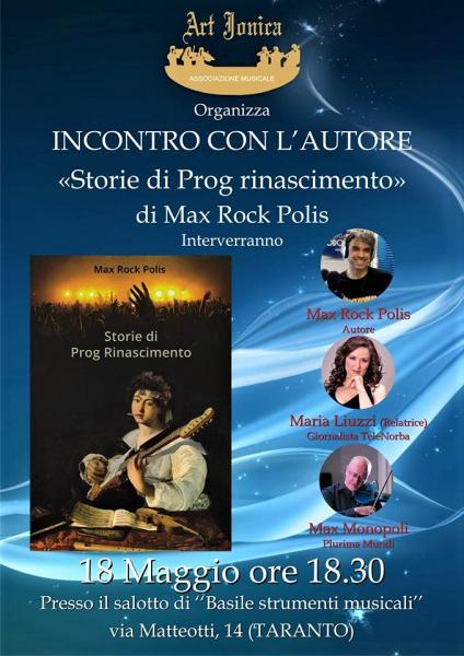 """Presentazione del libro """"Storie del Prog Rinascimento"""""""