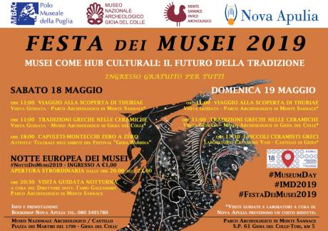 Festa dei Musei 2019 al Parco Archeologico di Monte Sannace