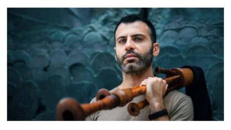 """Concerto e presentazione del CD del musicista del """"Canzoniere Grecanico Salentino"""" Giulio Bianco: """"Di zampogne, partenze e poesia"""", al Jungle P.R."""