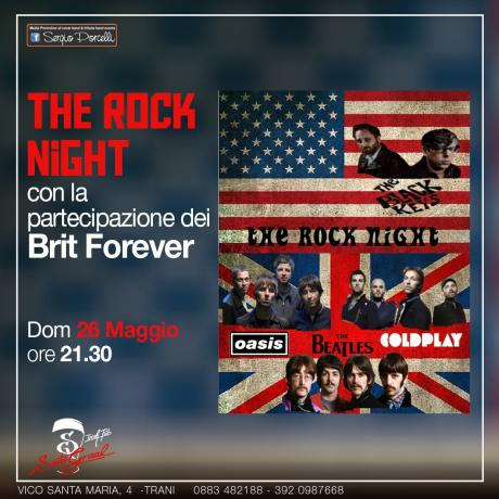 The rock night - Brit Forever at Santo Graal Trani