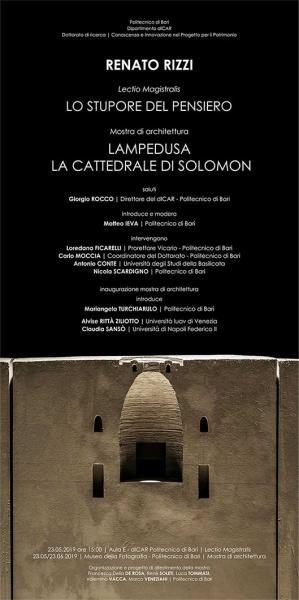 Renato Rizzi_LAMPEDUSA, LA CATTEDRALE DI SOLOMON