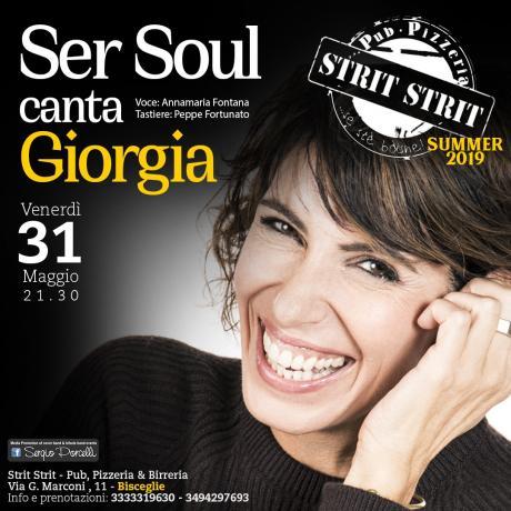 Ser Soul canta Giorgia a Bisceglie