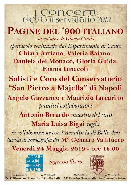 """""""Pagine del '900 italiano"""""""