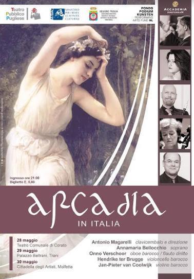 """Accademia Amsterdam in """"Arcadia"""", tre date esclusive in Puglia"""