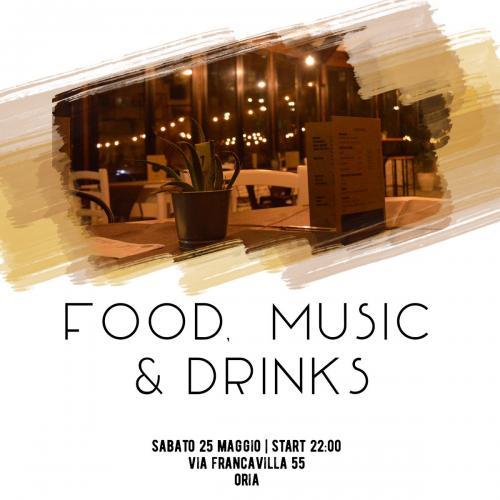 Food, Music & Drinks