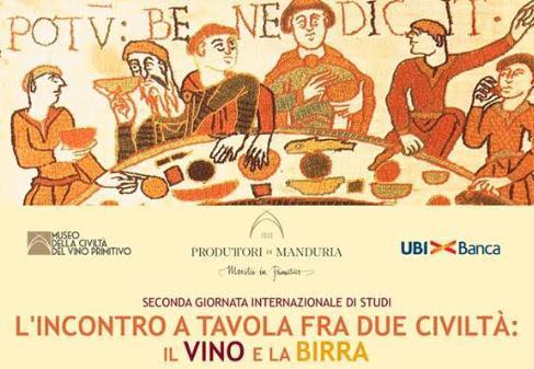L'incontro a tavola fra due civiltà: il vino e la birra