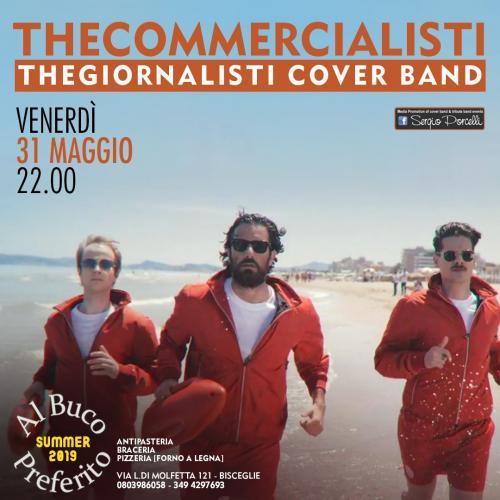 Thecommercialisti - Thegiornalisti CoverBand a Bisceglie