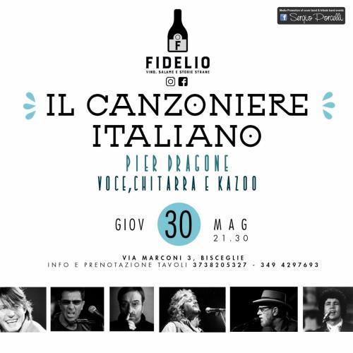 Il Canzoniere Italiano - Pier Dragone a Bisceglie