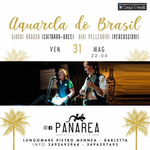 """Aquarela do Brasil"""" Panarea live Barletta"""