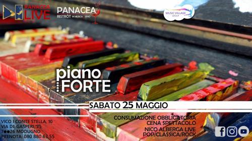 pianoFORTE   PanaceaLIVE