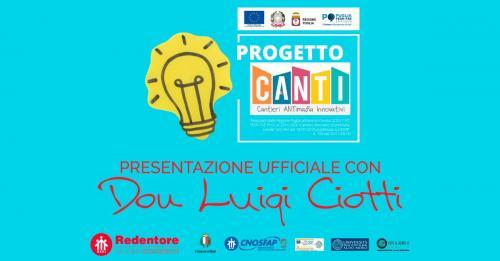 Presentazione di CANTI-Cantieri ANTimafia Innovativi con Don Luigi Ciotti