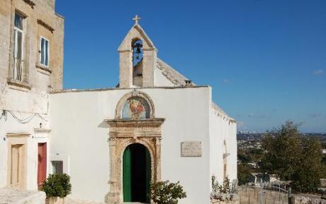 Festa di Pentecoste presso la chiesetta dello Spirito Santo sulla valle d'Itria