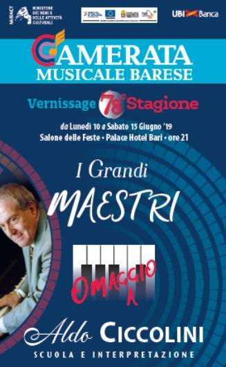 """Per il progetto """"I Grandi Maestri"""": Giorgio Bartoli Trione"""