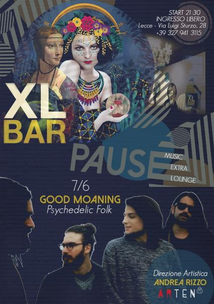 """PAUSE"" ospita Good Moaning in concerto"