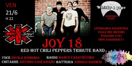 Joy 18 Red Hot Chili Peppers tribute band live @whisky a gogo