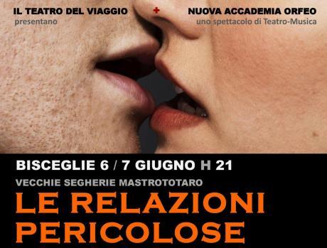 Le Relazioni Pericolose, da un romanzo-scandalo debutta uno spettacolo di teatro e musica