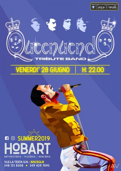 Queenuendo tribute band a Bisceglie