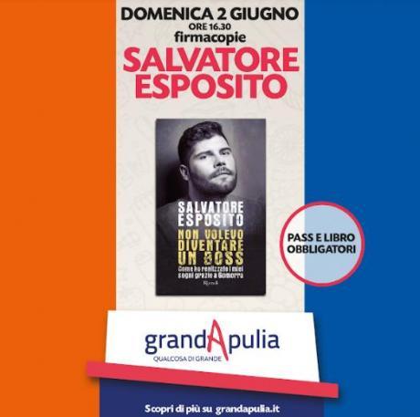 Firmacopie con Salvatore Esposito