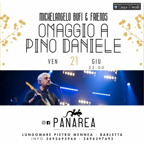 Michelangelo Bufi & Friends - Omaggio a Pino Daniele a Barletta