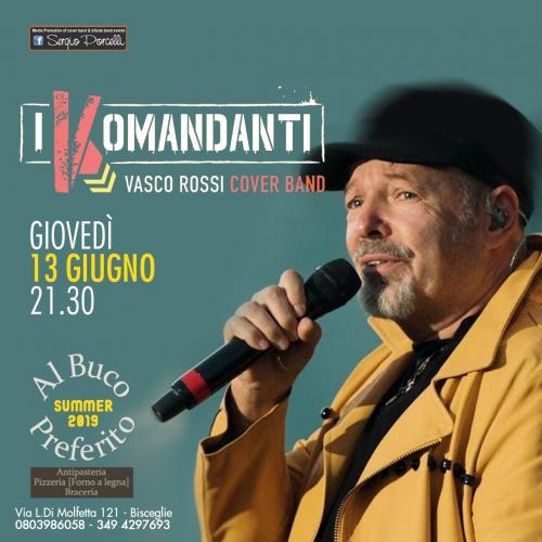I Komandanti - Vasco Rossi cover band a Bisceglie