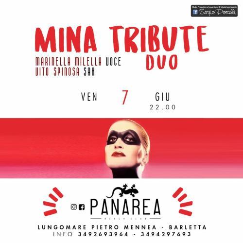 Mina tribute duo - Panarea live Barletta