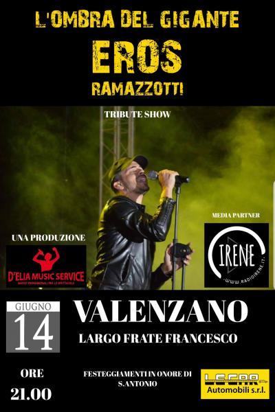 L'OMBRA DEL GIGANTE- EROS RAMAZZOTTI TRIBUTE SHOW- LIVE