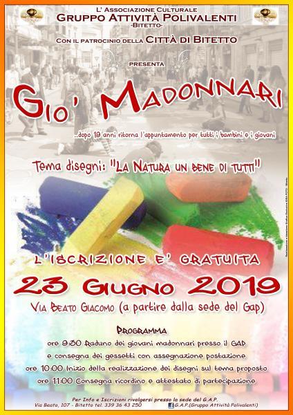 Gio' Madonnari 2019 Città di Bitetto